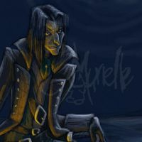 Pirate Snape closeup by Murielle