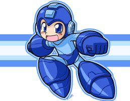 MegaMan ready to smash some bros by rongs1234