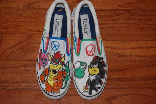 Gamer Shoes3 by MLConley