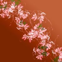 Sweeping Sensation Floral Pattern 09 by DonnaMarie113