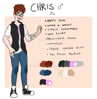 Chris - new reference [OC] by Temerariie