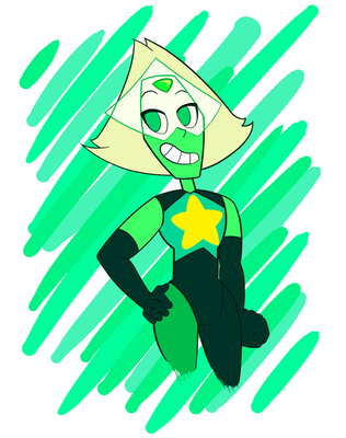 PERI-TASTIC new Crystal Gem outfit by Camichicamagica