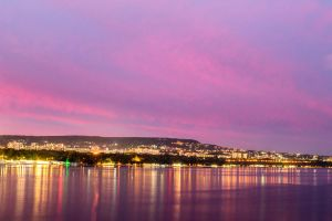 Varna City in the Evening by Armaga10