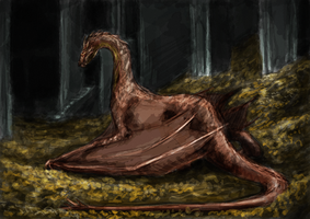 Lair of Smaug Coloured by Atarial