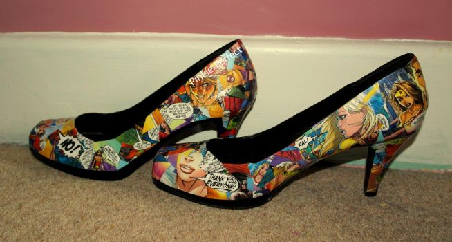8443ee9059d8 Comic Book Shoes (Close-Up) by Pinkie-Perfect on DeviantArt
