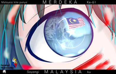 Happy 61st independence day Malaysia! by BillyClaudius