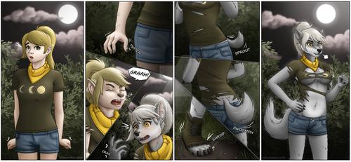 I liked that Shirt! Werewolf Transformation by Miltonholmes