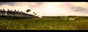 Skirmish Panorama by MarcelPater