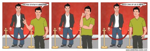 Taylor Lautner Wax Museum by AstroWorm2010