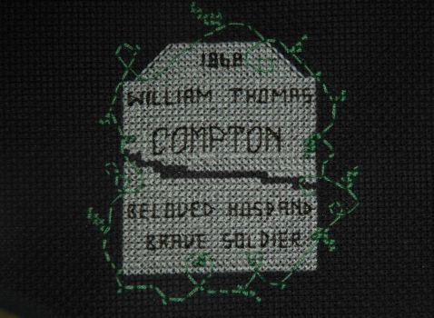 Bill Compton Cross Stitch by VampireCraftin