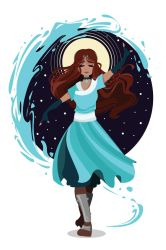 The Waterbender by monarch-star
