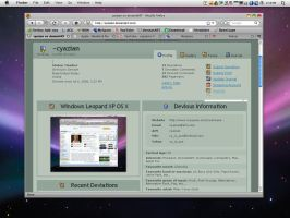 Windows Leopard XP OS X 1.0 by cyazian