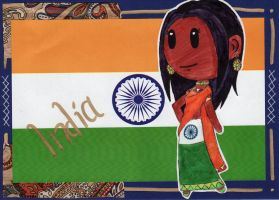 SatW OC - Sister India by flylittlecat