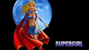 Supergirl - Blue Moon by Curtdawg53