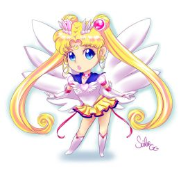 Chibi Eternal Sailor Moon by SailorGigi
