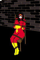Spiderwoman by darkprinceNarrok