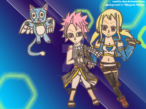 NaLu in Action by Camilia-Chan