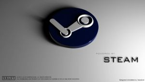 Steam Logo - 3D by DJnetZ