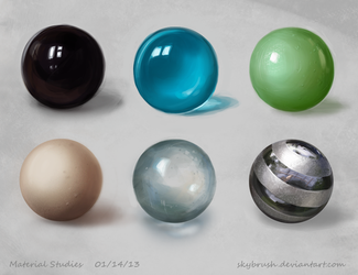 Material Study 01 by skybrush