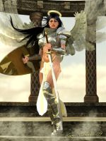 Angelic Warrior by Sharby