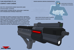 Compact Laser Carbine by Kal241