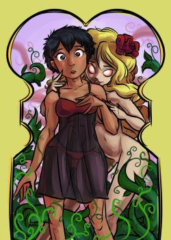 Shade and Diane by tran4of3