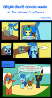 Stupid short eevee comic #2 by pinkeevee222