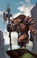 World of Warcraft - Cairne Bloodhoof by SeoMinSung