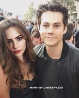 Manip | Dylan O'Brien and Bridget Satterlee by chrissy-cost