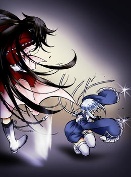 Alice versus Echo by ViChaN91312