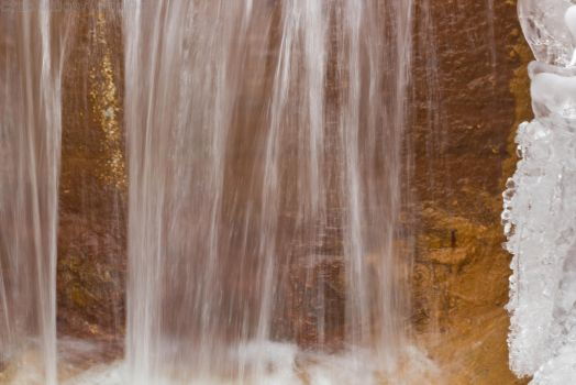Sheets of a waterfall by darvon42