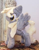 Derpy Hooves Minky Custom Plush by ponypassions