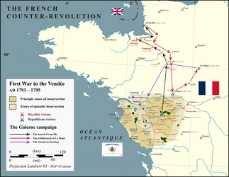 First War in the Vendee by Gouachevalier