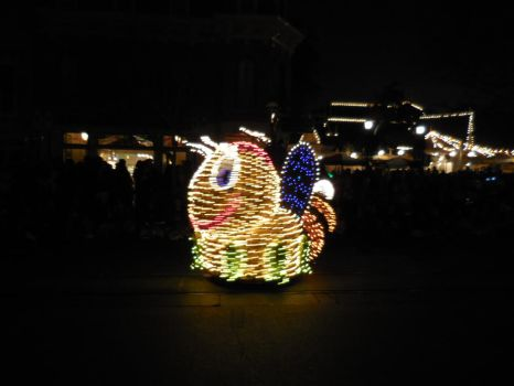 Main Street Electrical Parade: Firefly by FlowerPhantom