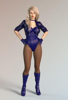 Black Canary G3 Iray by member9