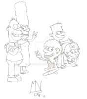 The Simpsons by MrNintMan