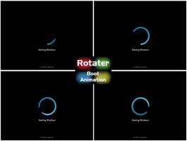 Rotater Boot Amination Win 7 by TriggerSpasm