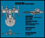 Decatur Class Frigate by Andared