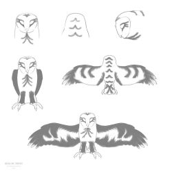 owl patterns by Aimorragia