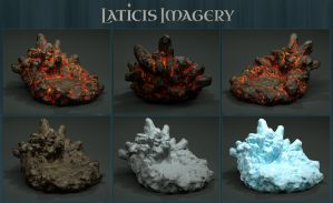 Laticis Imagery FREE Object - Rock Stand by Laticis