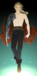 E for Edward Elric by doubleleaf