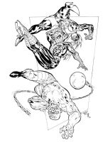 Spidey Thursday 10 Muady inks by SpiderGuile