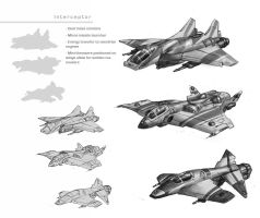 Interceptor Concepts by Rhineville
