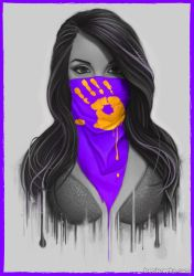 Maked Girl - Purple by Bomu