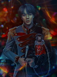 BTS JIN [circus Antre] by dannywornop43