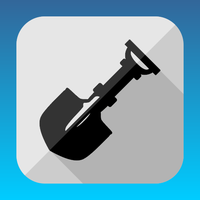 Flat spade icon by ivprogrammer