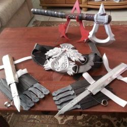 My Assassin's Creed handmade props by TheOneWhoIam