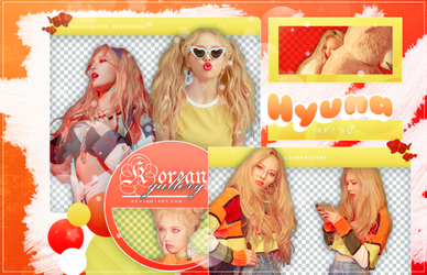 HYUNA   LIP and HIP   PACK PNG by KoreanGallery