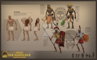 Project Duat - Mummies by Eanny