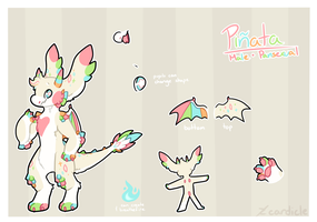 pinata ref sheet 2018 by Cardicle